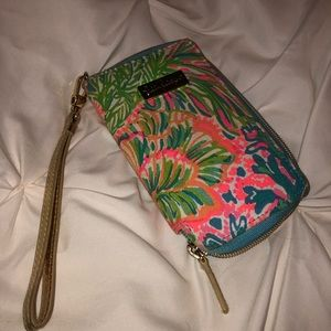 Lover's Coral Print Lilly Pulitzer Wrislet